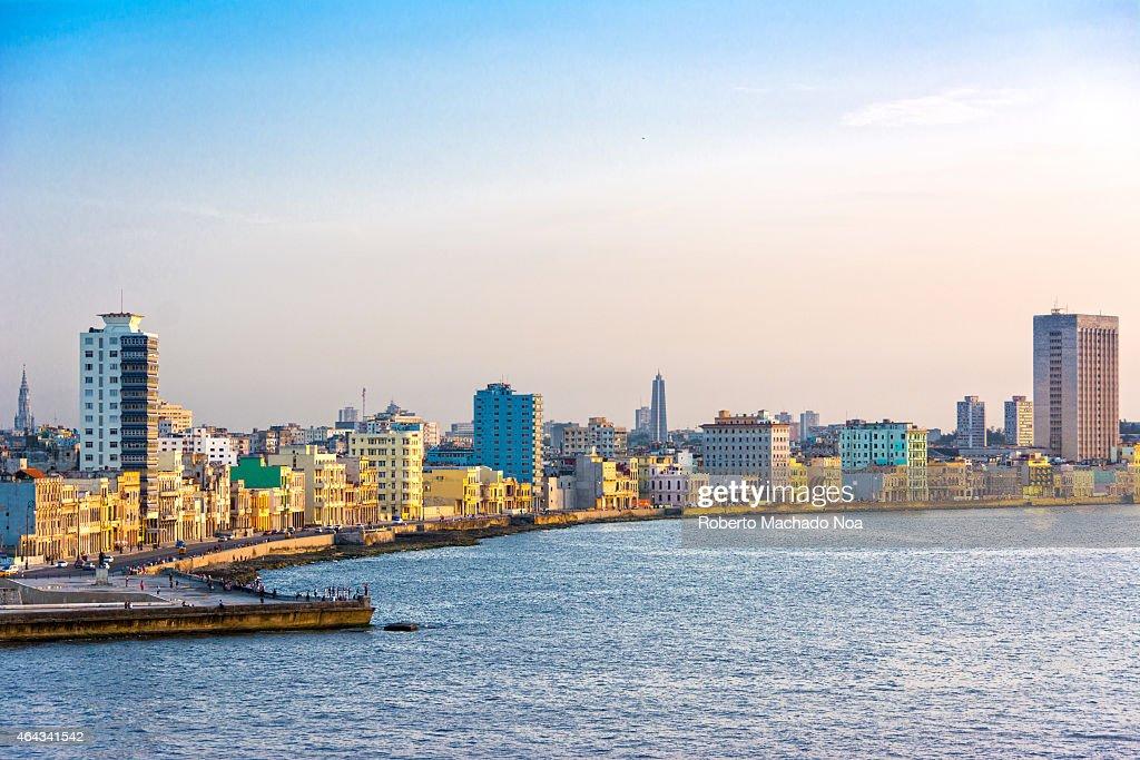 Beautiful scenes of the Havana,Cuba skyline during the... : News Photo