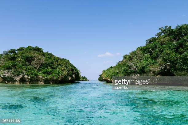 Beautiful seascape of Iriomote-Ishigaki National Park, Okinawa, Japan