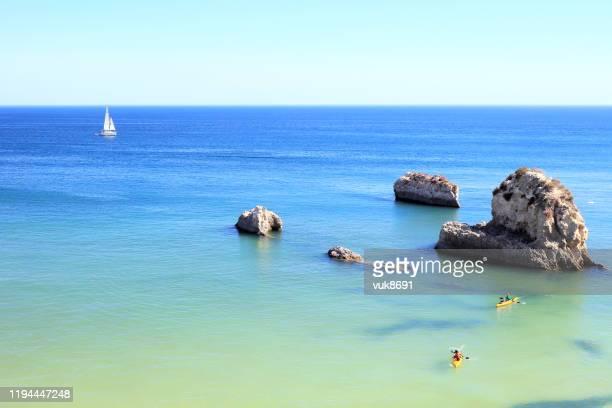 美しい海景 - アルブフェイラ ストックフォトと画像