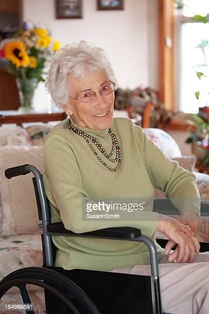 Beautiful Senior in Wheelchair