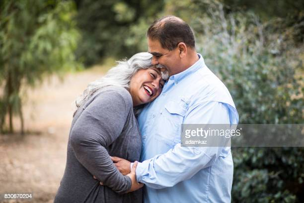 Beautiful Senior Mexican Couple