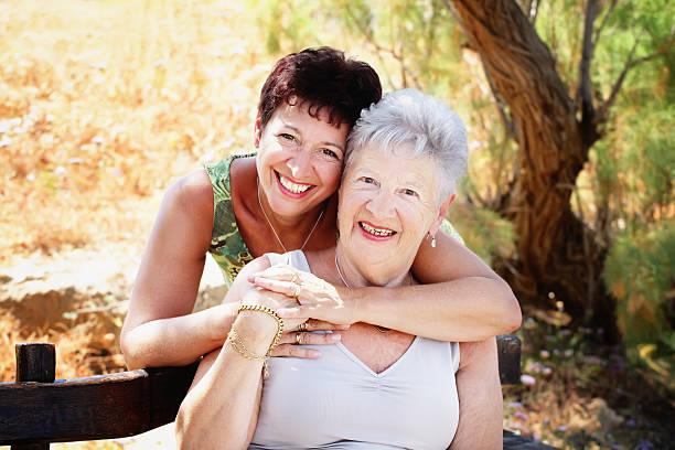 older women makes beautiful mothers