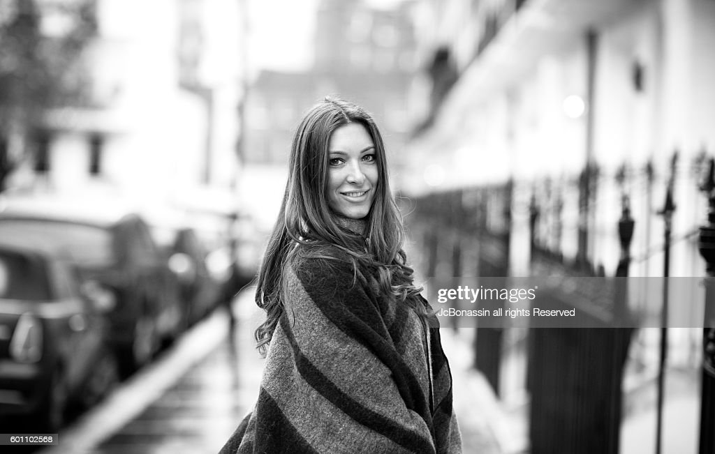 Beautiful Serbian Woman Smiling : Stock Photo