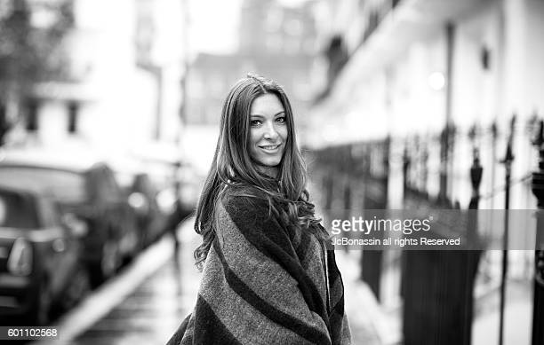 beautiful serbian woman smiling - jcbonassin stock pictures, royalty-free photos & images