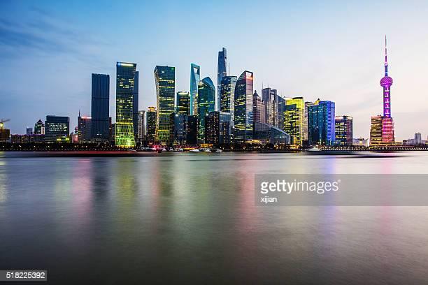 Wunderschöne Shanghai Skyline