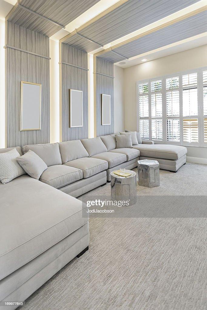 beautiful sitting area : Stock Photo