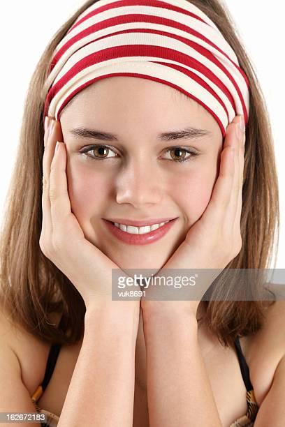 schönen lächeln - sexy girls stock-fotos und bilder