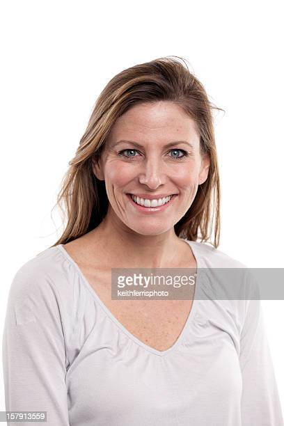 beautiful smiling woman - 30 39 years stock photos and pictures