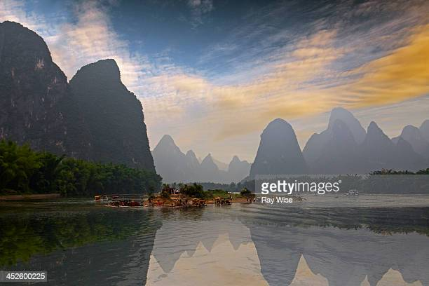 CONTENT] A beautiful spot on the River Li in China which is depicted on the back of the 20 Yaun bank note A small island of figures takes centre...