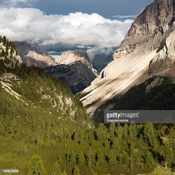 Wunderschöne spotlight in den Dolomiten