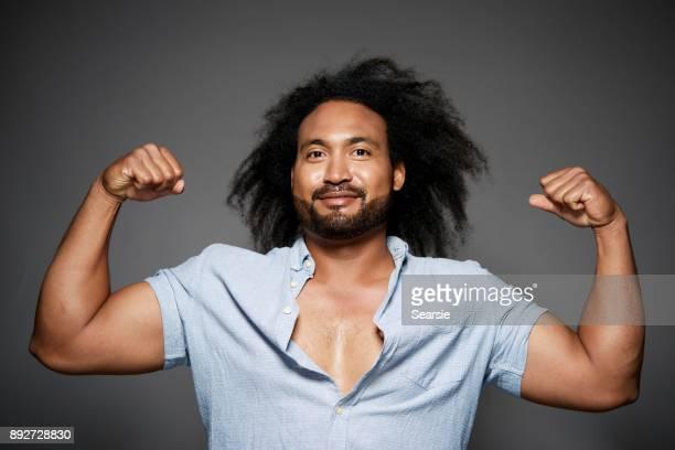 Beautiful Strong man
