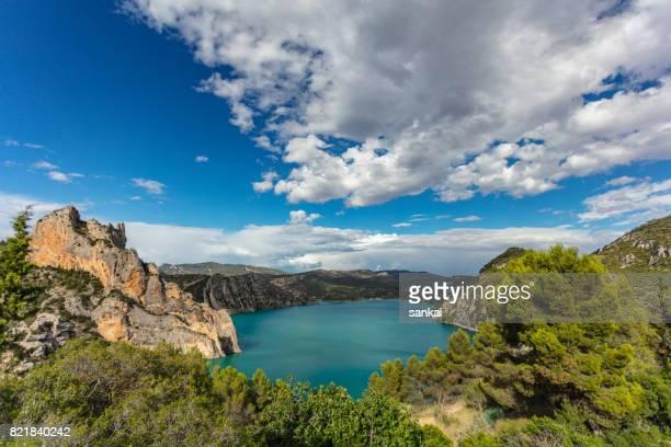山中湖の美しい夏の風景