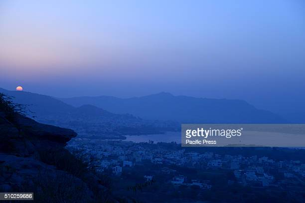 A beautiful sunrise in Ajmer
