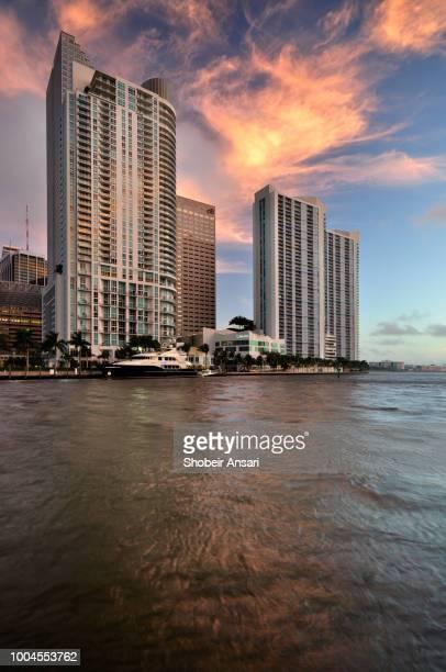 Beautiful Sunrise in Brickell, Miami