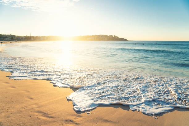 Beautiful Sunrise Seascape Bondi Beach - Fine Art prints