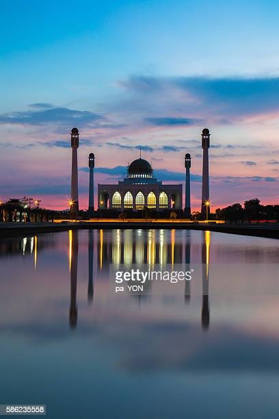 Beautiful Sunset at Central Mosque