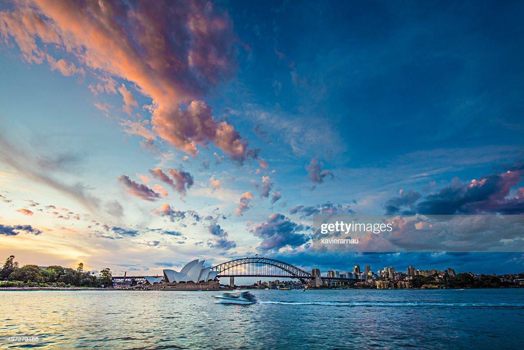 Beautiful sunset in Sydney : Stock Photo