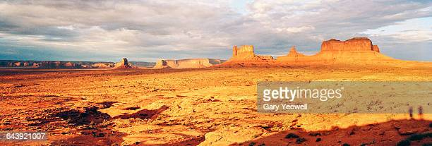 Beautiful sunset over Monument Valley