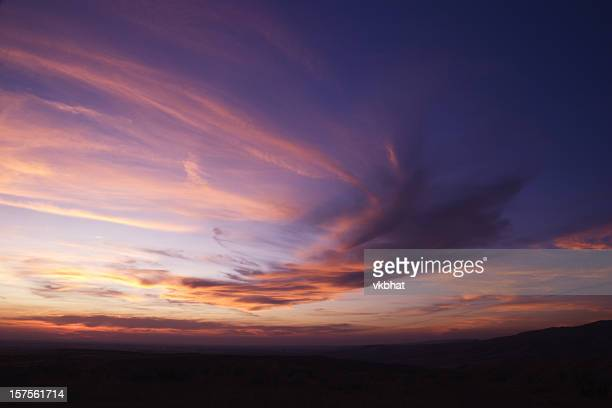 beautiful sunset - dusk stock pictures, royalty-free photos & images