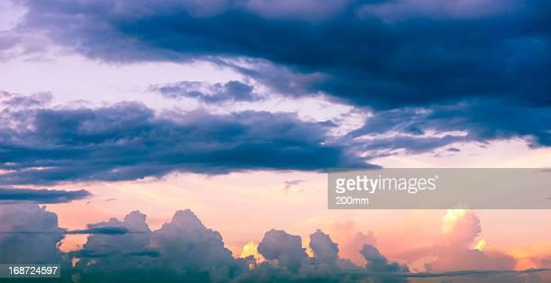 Beautiful sunset, sky