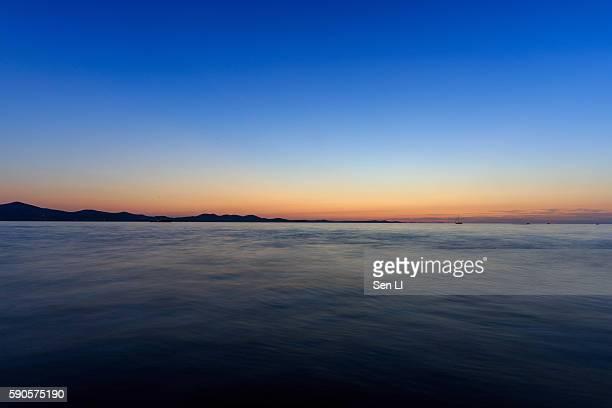 Beautiful Sunset, Zadar, Croatia