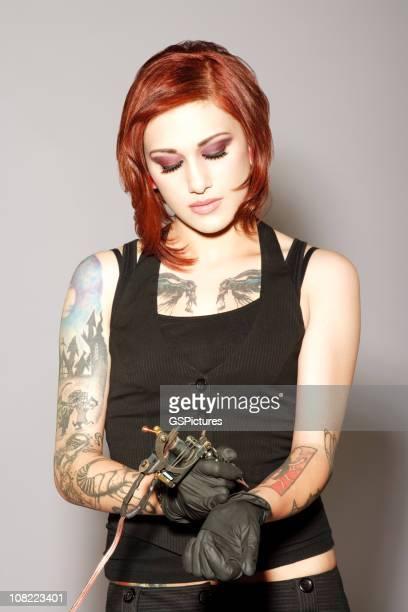 Beautiful Tattoo Artist