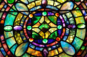 Beautiful Tiffany Stained Glass Window