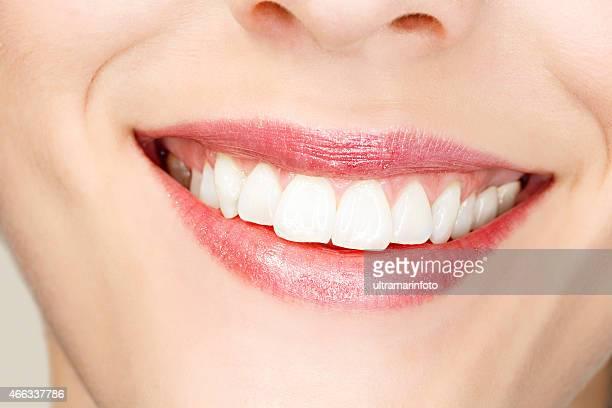 Beautiful Toothy Smile  Beauty Portrait   Happy smiling  Dynamic women
