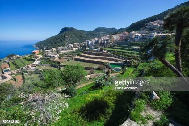 Beautiful town Banyalbufar, Mallorca, Spain