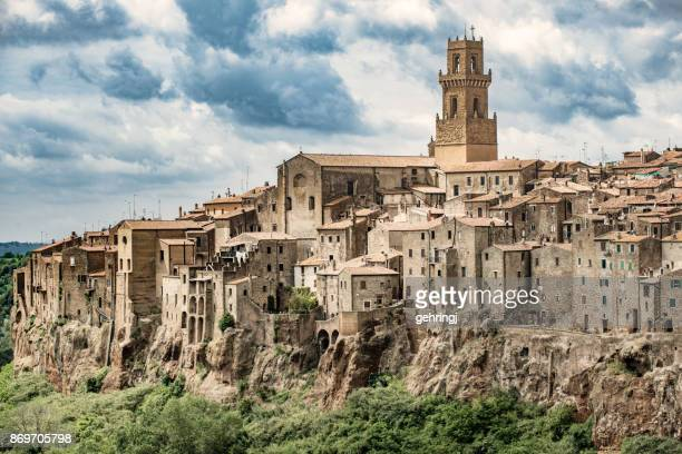 Beautiful town in Tuscany, Pitigliano. Province of Grosseto.