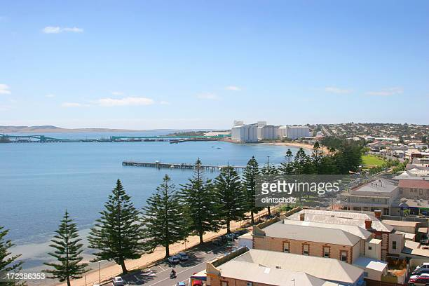 beautiful town - south australia stock photos and pictures