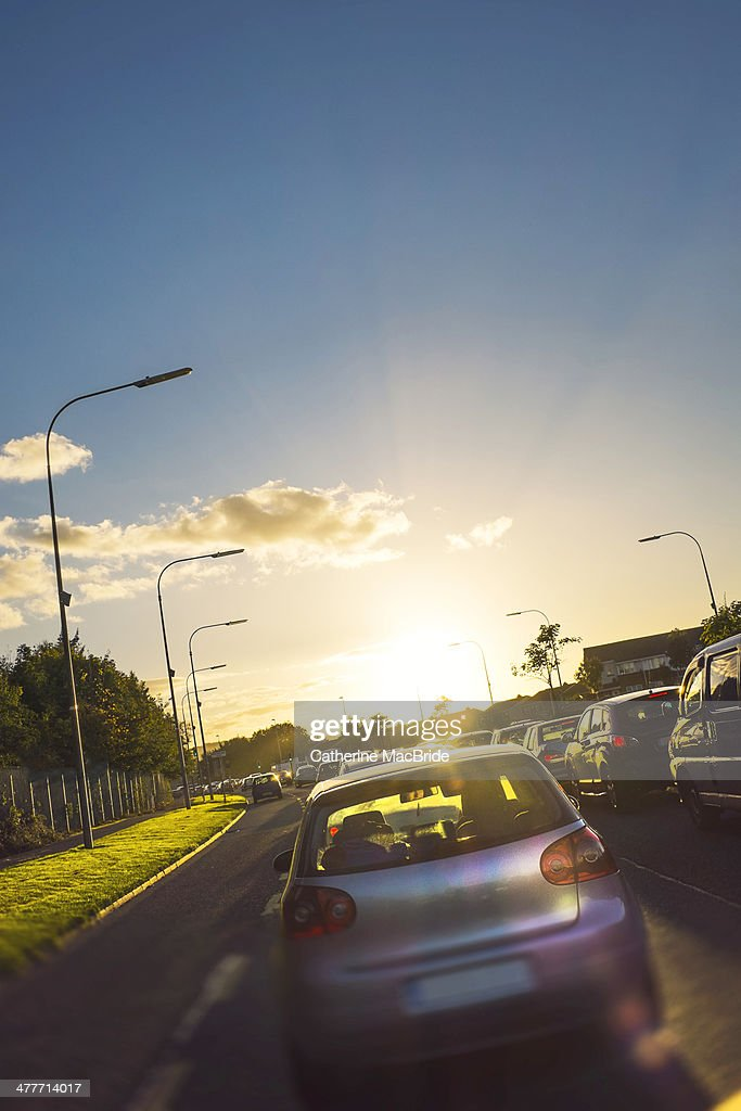 Beautiful traffic jam : Stock Photo