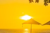 beautiful tropical outdoor beach sea ocean