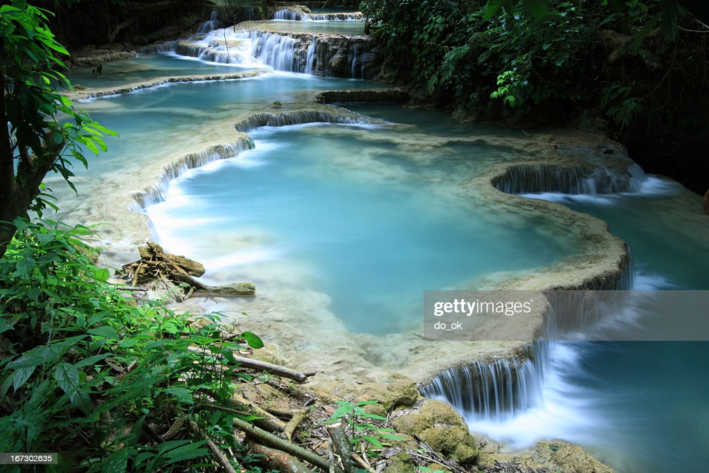 Beautiful turquoise water : Stock Photo