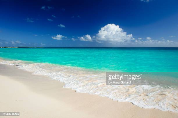 Beautiful Turquoise waters off of Pink Sand Beach, Barbuda, Antigua & Barbuda