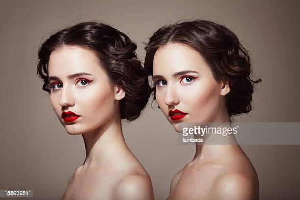 Beautiful twins