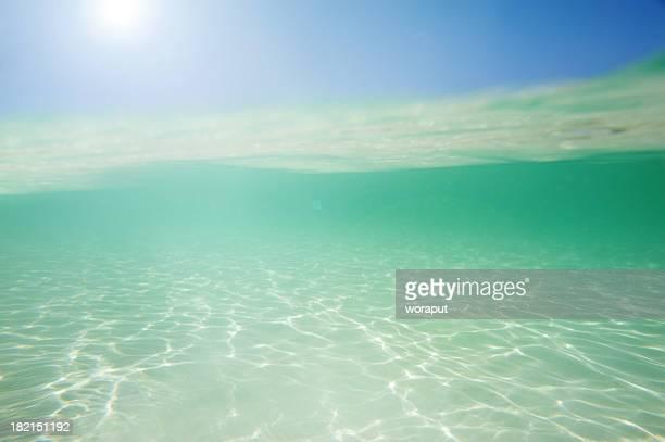 Beautiful underwater seascape