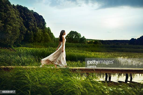 beautiful vacation - evening gown stock pictures, royalty-free photos & images