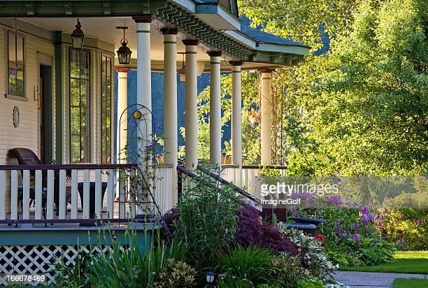 A beautiful Victorian veranda