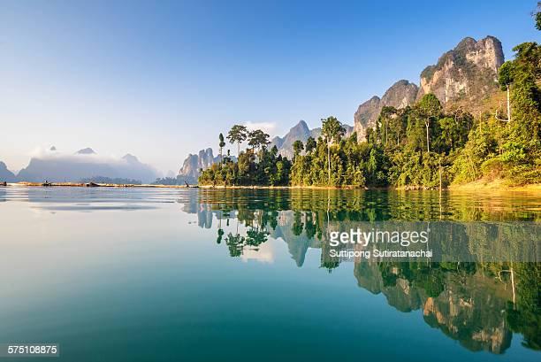Beautiful view lake and mountain