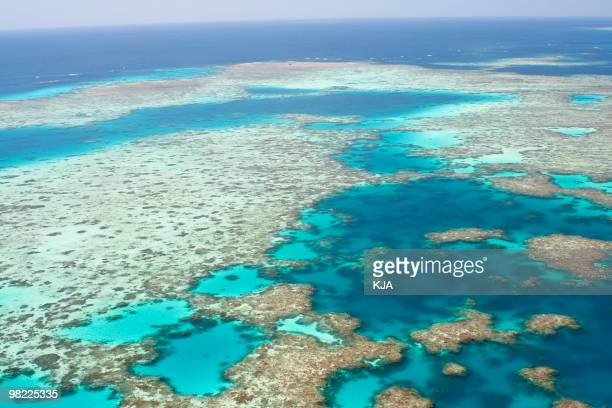 A beautiful view of Australia's Great Barrier Reef