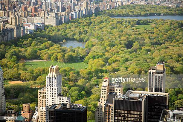 Beautiful view of Central Park, in New York City
