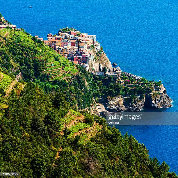 Beautiful view of Manarola
