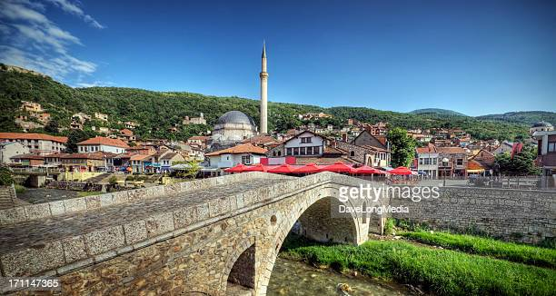 a beautiful view of ottoman in europe - kosovo stock pictures, royalty-free photos & images