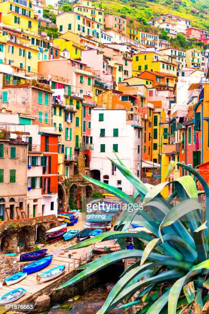 Beautiful view of Riomaggiore