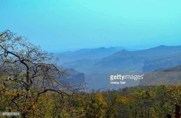 Beautiful view of Satpura hills /Pachmarhi/Madhya Pradesh