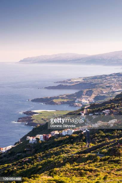 Beautiful view of Tenerife's north coastline, in Canary Islands (Spain)