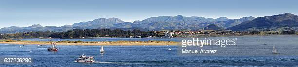 Beautiful view of the Santander Bay