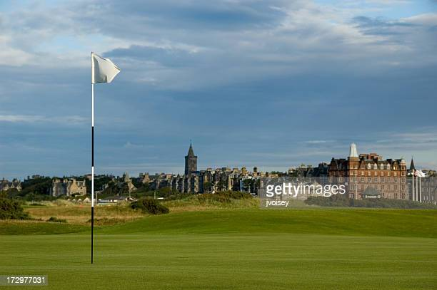 A beautiful view of the St Andrews Golf course