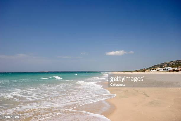 Zahara beach en la provincia de cádiz